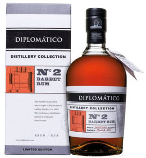 Rum Diplomatico N° 2 Single Barbet Column Rum 47% Vol. 70 cl Venezuela