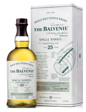 The Balvenie Single Barrel 25 years Scotch Single Malt Whisky 47,8% Vol. 70 cl