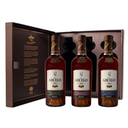 Rum Abuelo SET Collection 40% Vol. 3 x 20 cl Panama