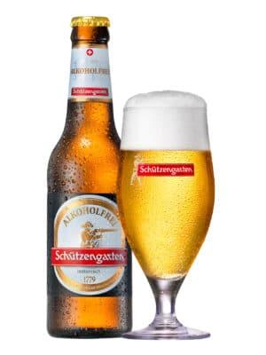 Schützengarten alkoholfrei 24 x 33 cl MW Flasche