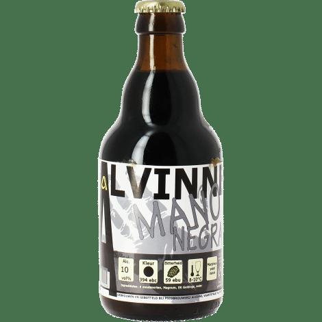 Alvinne Mano Negra 10% Vol. 24 x 33 cl EW Flasche Belgien