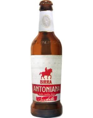 Birra Antoniana Scuadata 5,2% Vol. 12 x 33 cl EW Flasche Italien