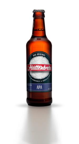 Hüttenbräu APA 4,8% Vol. 24 x 33 cl EW Flasche