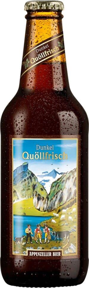 Appenzeller Dunkel 5,2% Vol. 6 x 33 cl EW Flasche