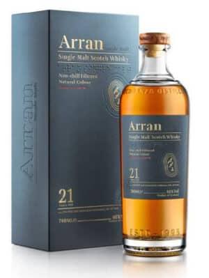 Whisky Arran Single Malt 21 years old 46° Isle of Arran 46% Vol. 70cl