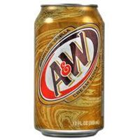 A&W Cream Soda 24 x 35,5 cl Dose USA