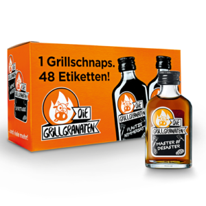 Die Grillgranaten Mini 30% Vol. 12 x 2 cl