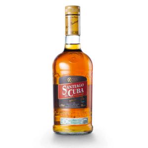 Rum Anejo 8 anos Santiago de Cuba 38% Vol. 70 cl Cuba
