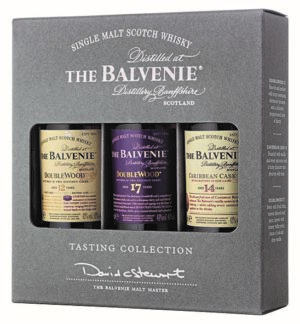 The Balvenie Tasting Collection 43% Vol. 3 x 5 cl