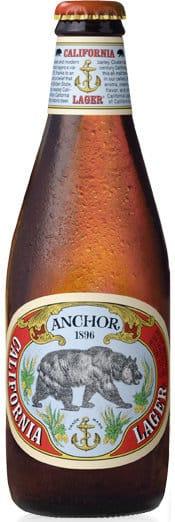 Anchor California Lager 4,9% Vol. 24 x 35 cl EW Flasche Amerika