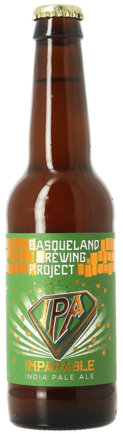 Basqueland Imparable IPA 6,8% Vol. 24 x 33 cl EW Flasche Spanien