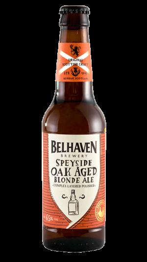 Belhaven Craft Speyside Blonde Oak Aged 6,5% Vol. 24 x 33 cl EW Flasche Scotland
