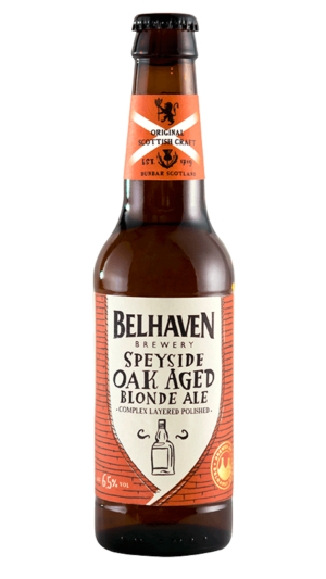 Belhaven Craft Speyside Blonde Oak Aged 6,5% Vol. 12 x 33 cl EW Flasche Scotland