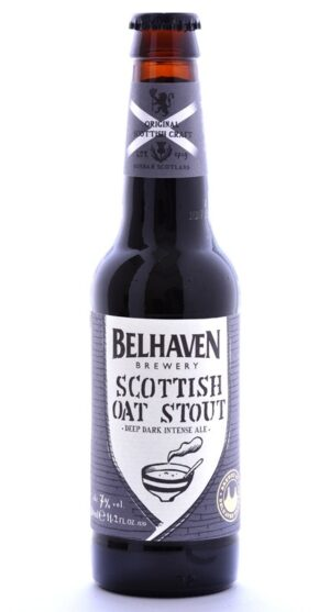 Belhaven Craft Scottish Oat Stout 7% Vol. 12 x 33 cl EW Flasche Scotland