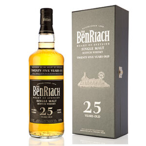 Whisky BenRiach 25 years 46,8% Vol. 70 cl