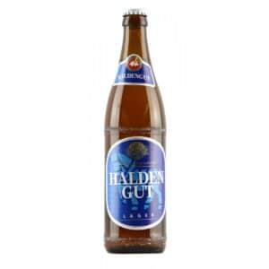 Haldengut Lager 4,8% Vol. 10 x 50 cl MW Flasche