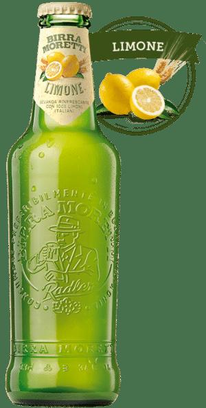 Birra Moretti Limone Radler 2% Vol. 24 x 33 cl EW Flasche