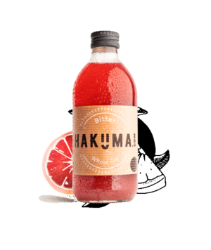 HAKUMA Bitter Whole Tea 12 x 33 cl