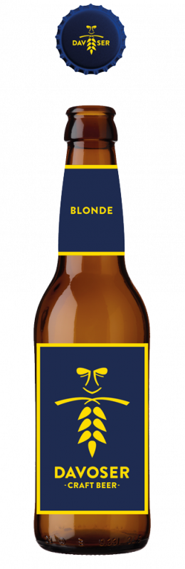 Davoser Craft Beer Blonde 4,6% Vol. 33 cl EW Flasche