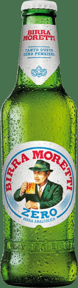 Birra Moretti Zero <0,05% Vol. 33 cl EW Flasche