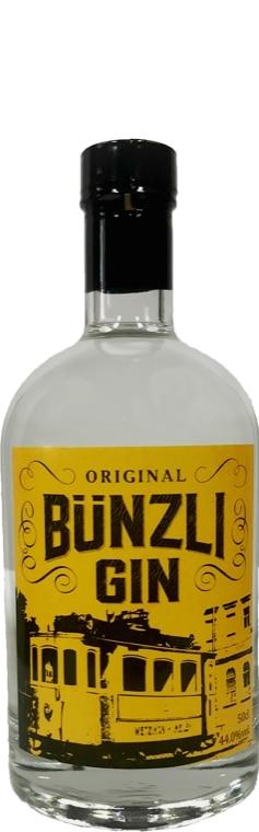 original Bünzli Gin 44% Vol. 50 cl Schweiz