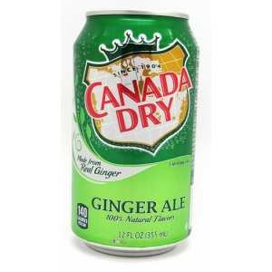 Canada Dry Ginger Ale 24 x 35,5 cl Dose USA