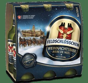 Feldschlösschen Weihnachtsbier 5,5% Vol. 6 x 33cl EW Flasche