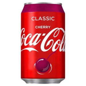 Coca Cola Cherry 24 x 35,5 cl Dose