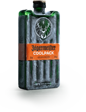 "Jägermeister Coolpack 35% Vol.  35 cl Pet "" eiskalter Shot"""