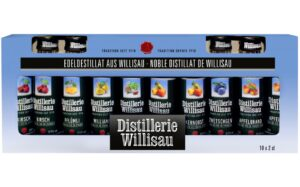 Distillerie Willisau Stange assortiert 37,5% Vol. 10 x 2 cl