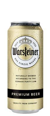 Warsteiner Premium Bier 4,8% Vol. 24 x 50 cl Dose