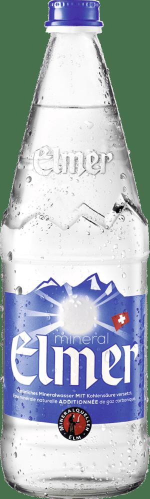 Elmer Mineral mit Kohlensäure 12 x 75 cl MW Flasche