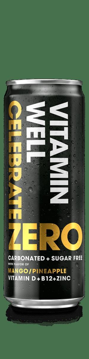 Vitamin Well Zero Celebrate Ananas / Mango 24 x 35,5 cl Dose
