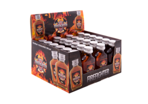 Fire-Fighter Kräuterlikör 30% Vol. 24 x 2 cl