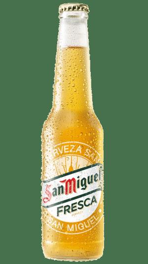 San Miguel Fresca 4,4% Vol. 33 cl EW Flasche Spanien