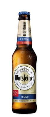 Warsteiner Fresh alkoholfrei 24 x 33 cl EW Flasche