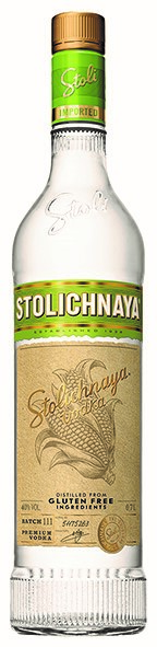 Vodka Stolichnaya Glutenfree 40% Vol. 100 cl Lettlands