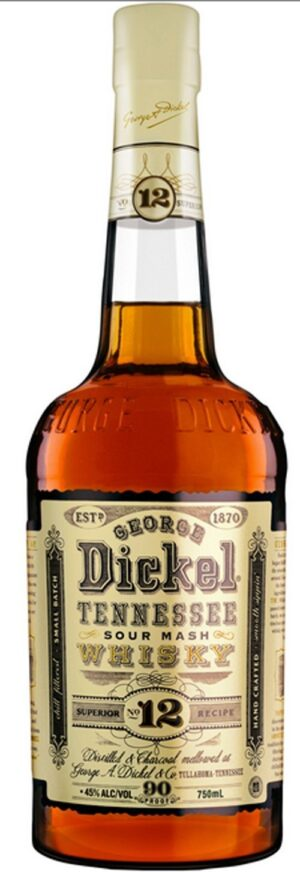 George Dickel No.12 Tennessee Whisky 45% Vol. 100 cl Amerika ( 2 bis 5 Tage Lieferfrist möglich )