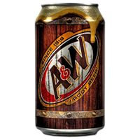 A&W Root Beer 24 x 35,5 cl Dose