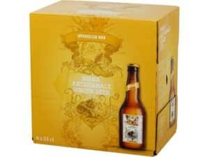 Appenzeller Ginger Bier 2,4% Vol. 6 x 33cl EW Flasche