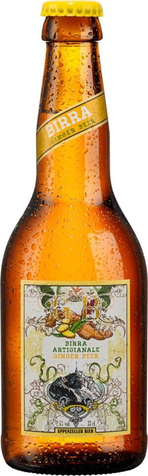 Appenzeller Ginger Bier 2,4% Vol. 24 x 33cl MW Flasche