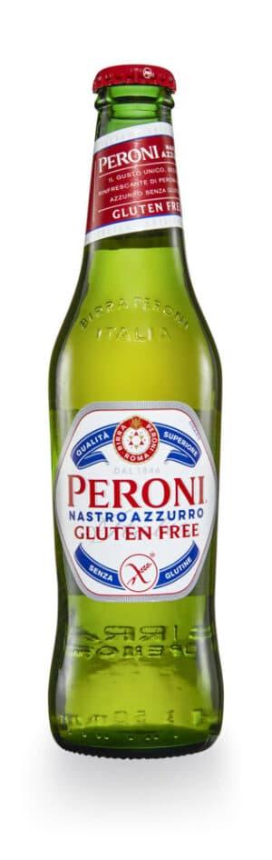 Peroni Nastro Glutenfrei 24 x 33 cl EW Flasche