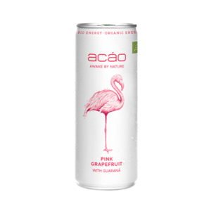 acáo Pink Grapefruit mit Guaraná 24 x 25cl Dose