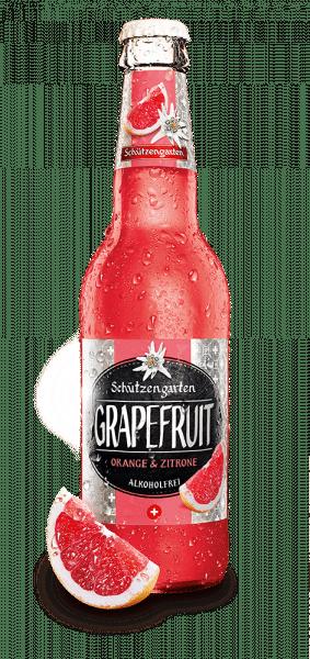 Schützengarten Grapefruit 0,2% Vol. 24 x 33 cl EW Flasche