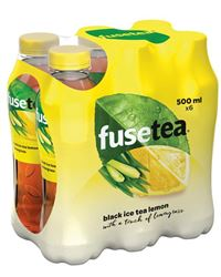 Fuse Tea Lemon Lemongrass 24 x 50 cl PET