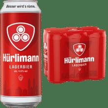 Hürlimann Lager 4,8% Vol. 24 x 50 cl Dose