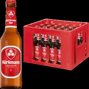 Hürlimann Lager 4,8% Vol. 24 x 33 cl MW Flasche