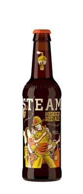 Steamworks Heroica Red Ale 5,6% Vol. 24 x 33 cl EW Flasche Kanada