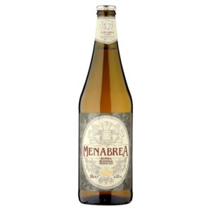 MENABREA BIONDA - LAGER 4,8% Vol. 24 x 33 cl EW Flasche Italien