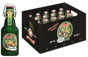 Bölkstoff Bier Hamburg ( Werner Bier ) 20 x 33 cl MW Bügelflasche